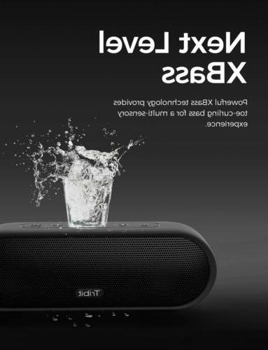Tribit MaxSound Plus Wireless Bluetooth Exceptional XBass
