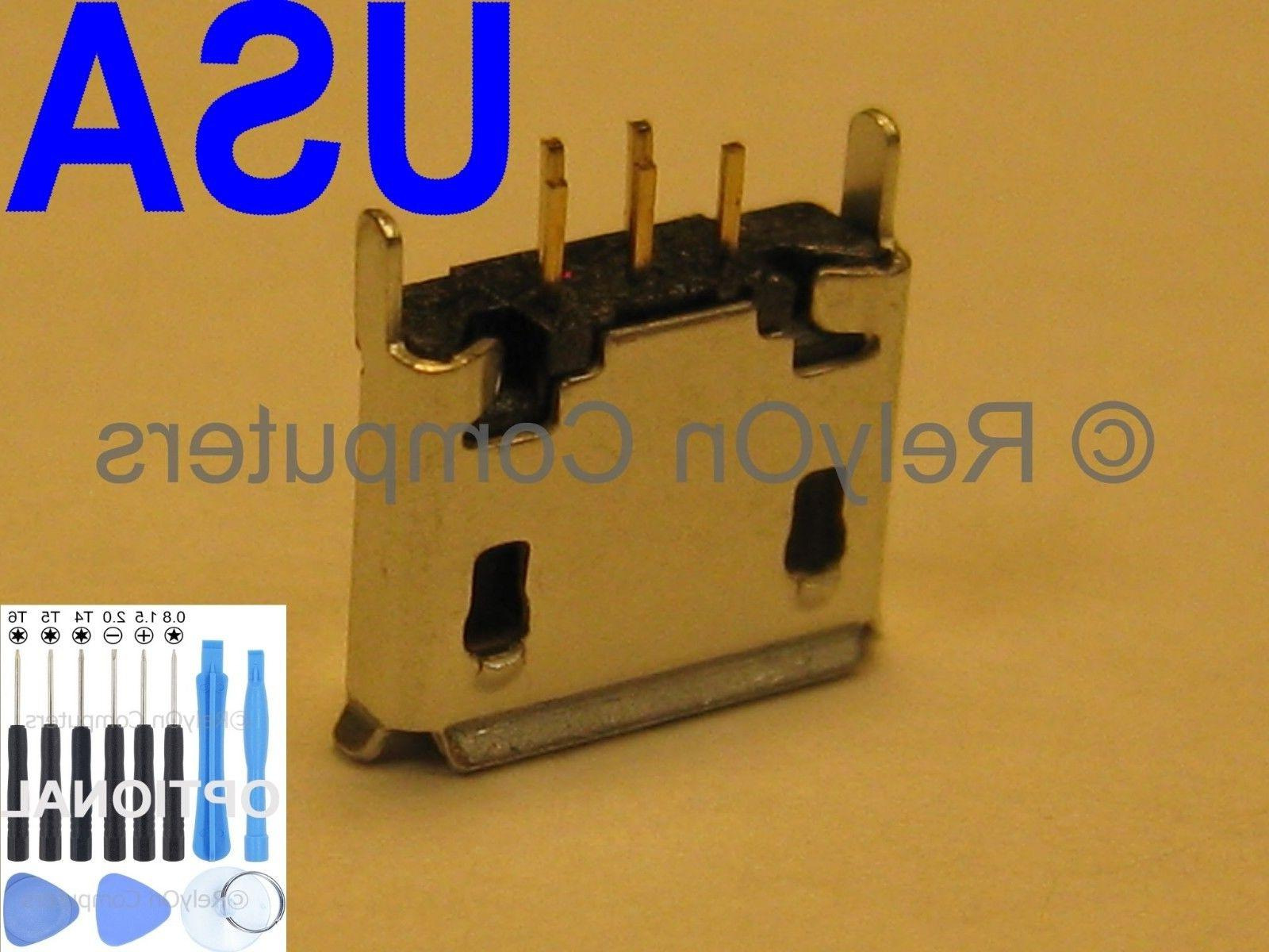 Micro USB Charging Port Charger Connector for JBL PULSE Blue