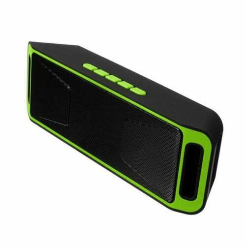Mini Bluetooth Speaker Outdoor Stereo USB Radio