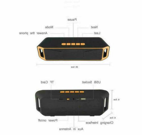 Mini Bluetooth Speaker Wireless USB
