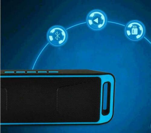 Mini Outdoor Stereo Loudspeaker USB Radio