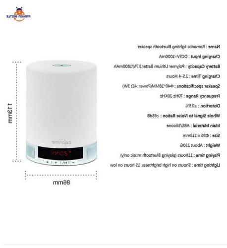 Mini Speakers Design Durable Lamp