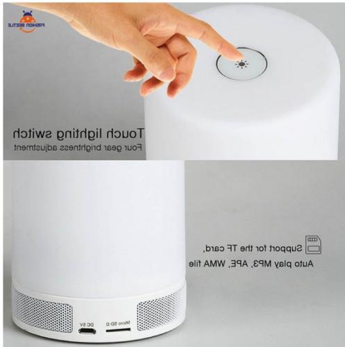 Mini Light Bluetooth Speakers Design Durable Lamp Novelty