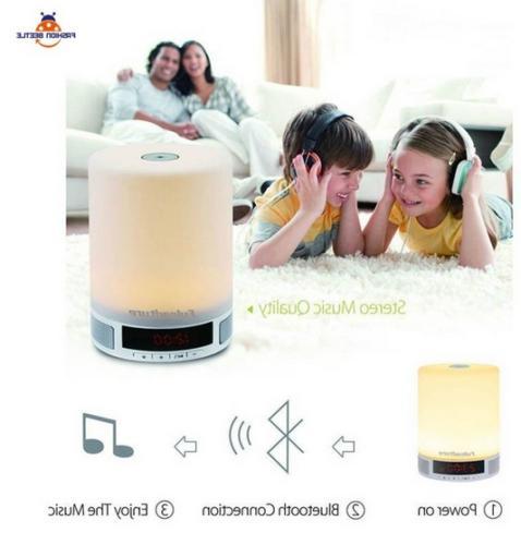 mini led light bluetooth speakers popular design