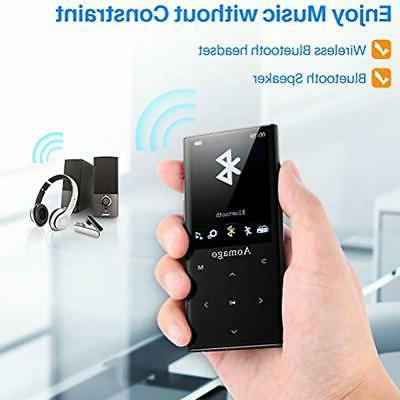 Music Player With Speaker In