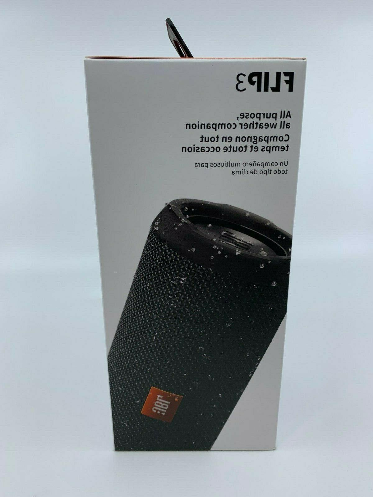 New & Sealed JBL Flip Edition Portable Bluetooth Black