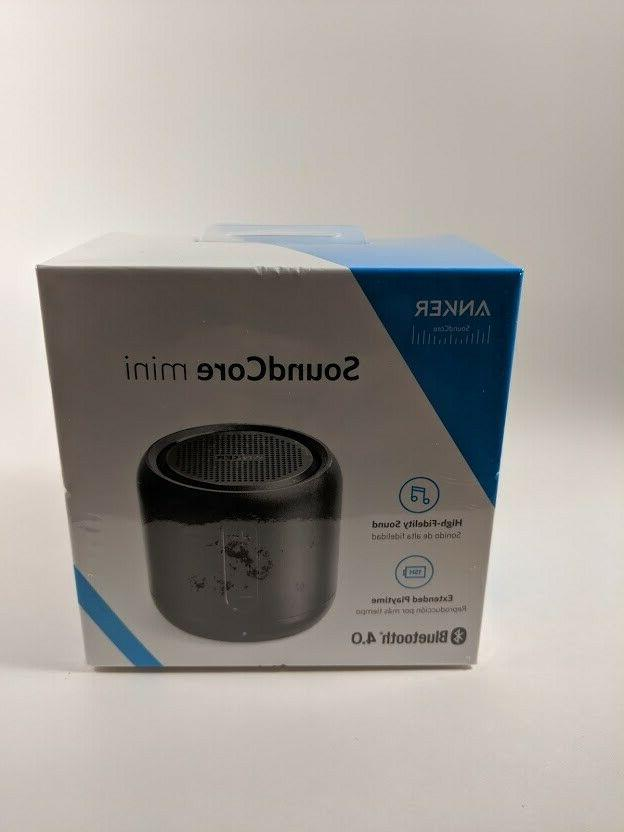 NEW Mini, Super-Portable Bluetooth Speaker 15-Hour Playtime