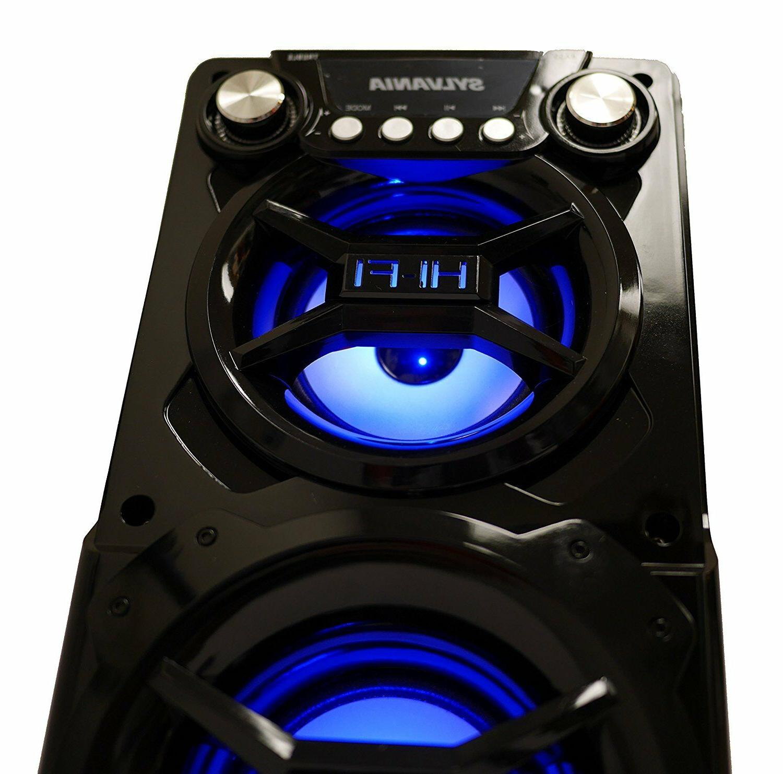 NEW Black Portable Bluetooth Huge Sound