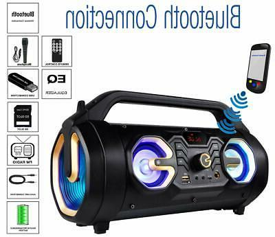 new bt 16g portable bluetooth boombox speaker