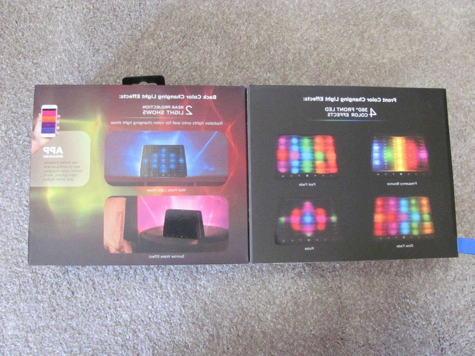 New iHome iBT751B Color Changing with 360