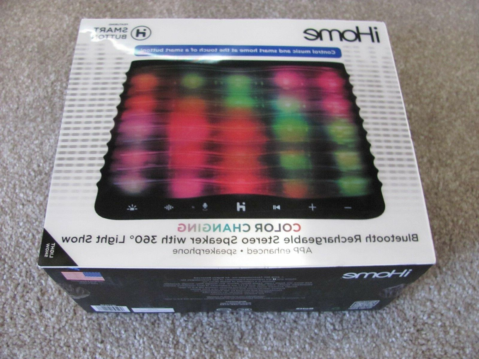 new ibt751b color changing bluetooth stereo speaker