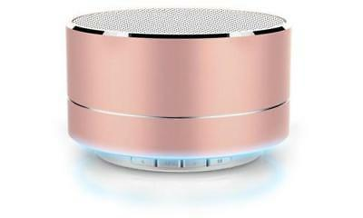 NEW RevJams Satellite Bluetooth LED Speaker - Rose Gold