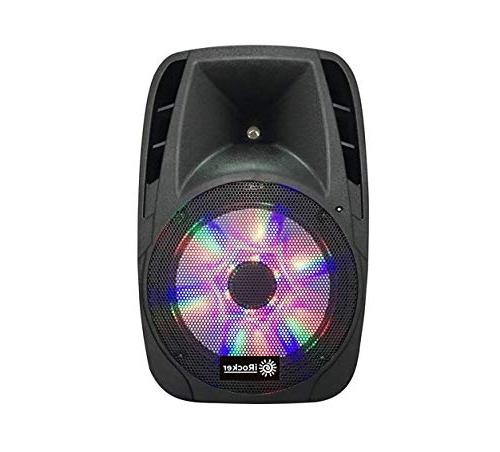 iRocker PA 1000 BriteLite Bluetooth Wireless PA Speaker Syst