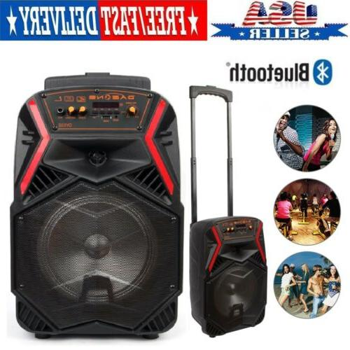 8 party bluetooth speaker system led portable