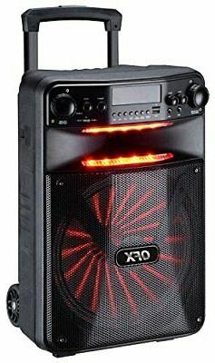 QFX PBX-1210 Smart App Controlled Party Speaker with