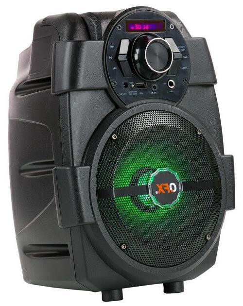 QFX PBX-5 PA Speaker +Bluetooth +RGB LED