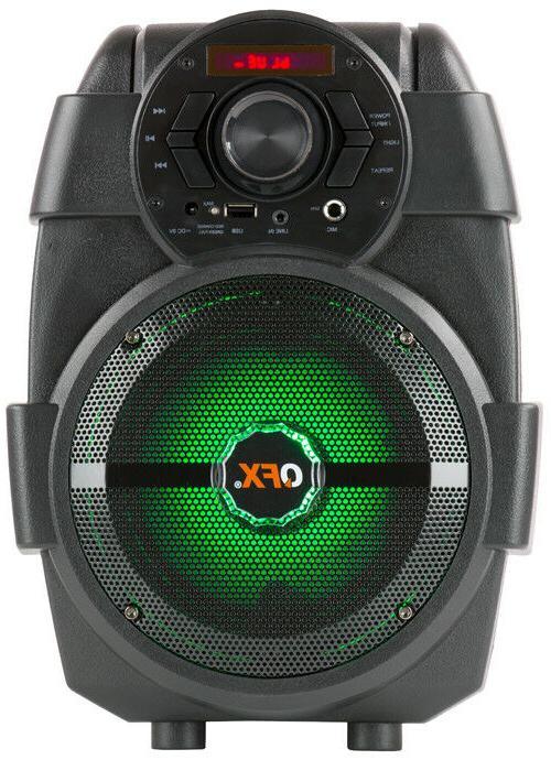 QFX PA +USB/AUX/FM +RGB