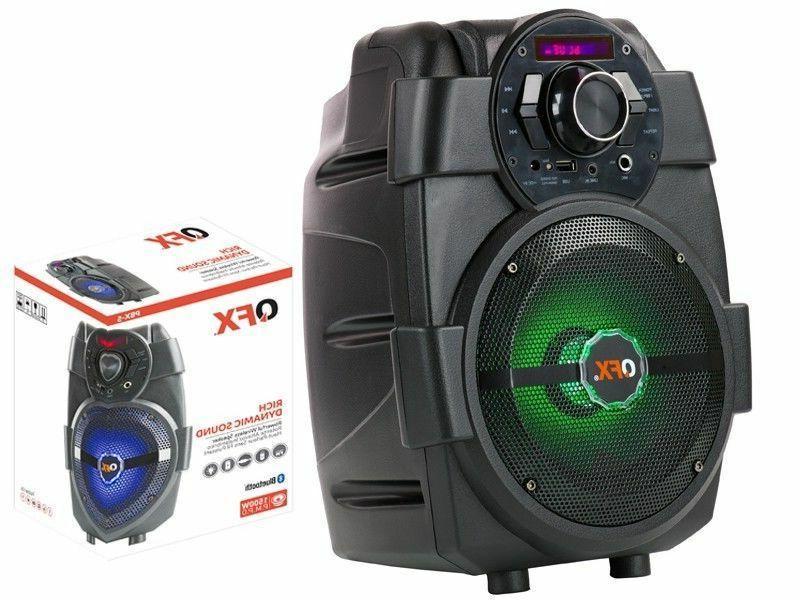 QFX PA +RGB LED Light