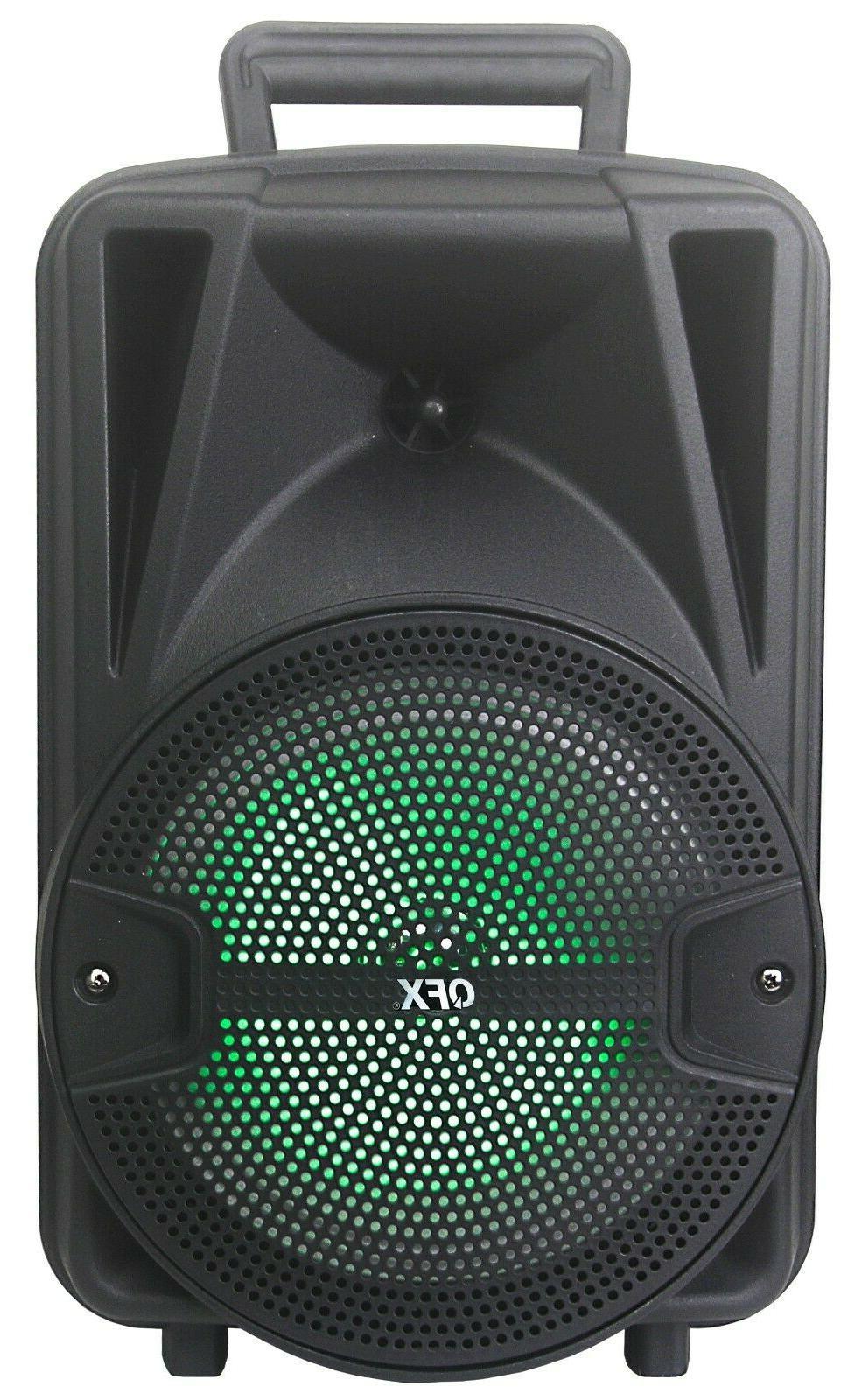 QFX PBX-89 Speaker Bluetooth +Free Mic