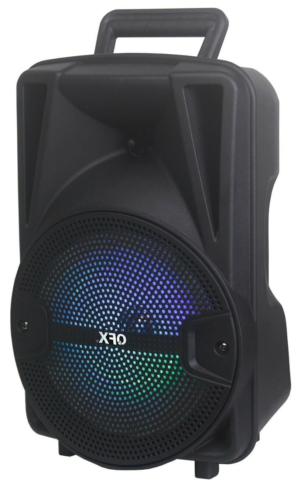 QFX PBX-89 Party Speaker +TWS Bluetooth +Free