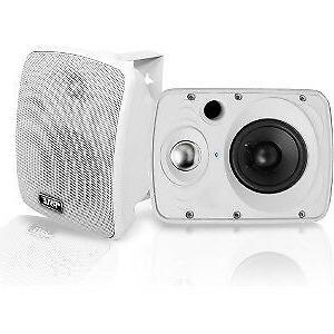Pyle PDWR64BTW Waterproof and Bluetooth 6.5'' Speaker System