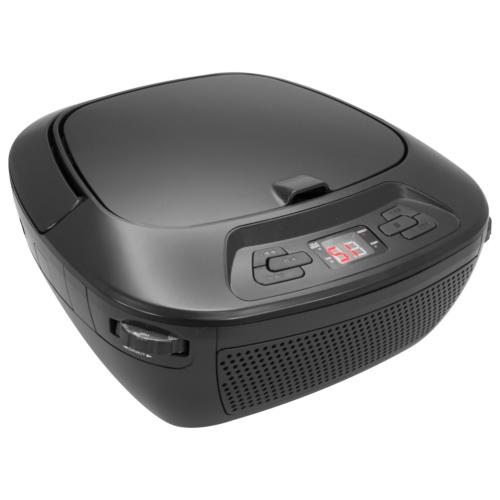 GPX Portable Bluetooth Boombox/CD Player, Requires 6 C Batte