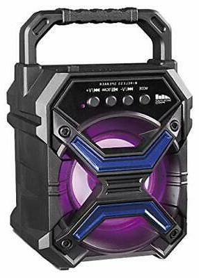 portable bluetooth speaker and disco light 3