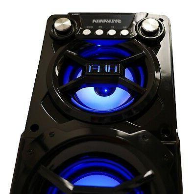 Sylvania Portable Bluetooth Black