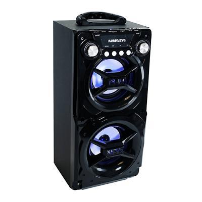 portable bluetooth speaker black sp328 b black