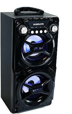 portable bluetooth speaker huge stereo sound w