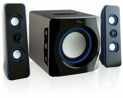 iLive Portable Bluetooth Speaker System with Built-In Subwoo