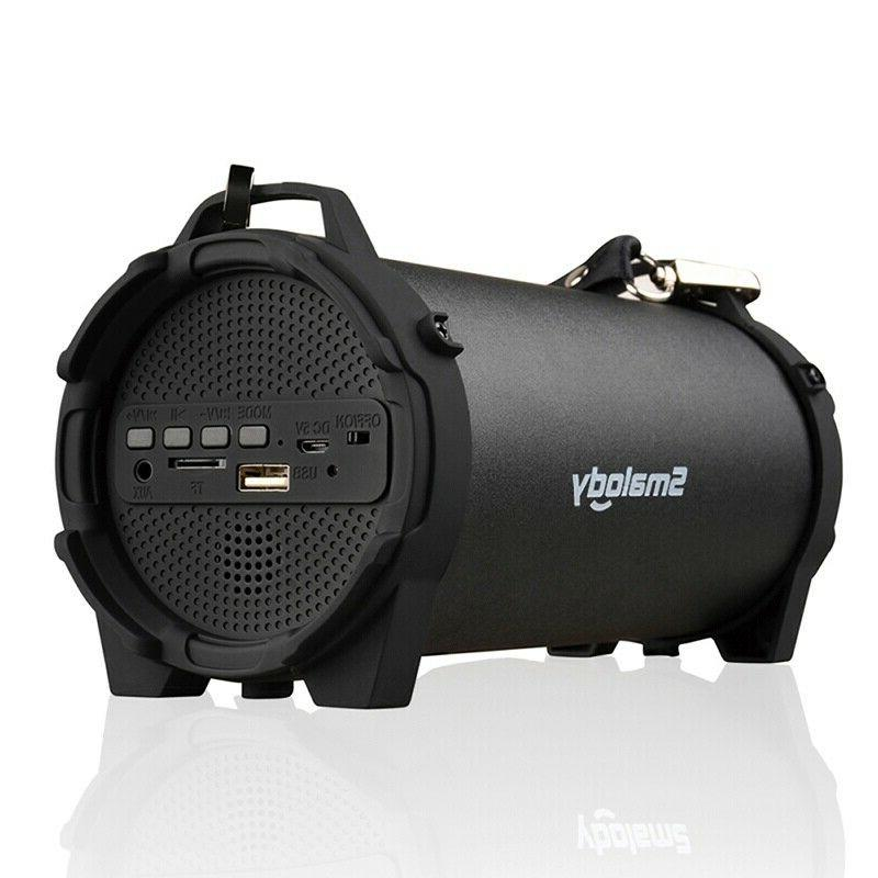 Portable Bluetooth Wireless Waterproof Bass Loudspeaker