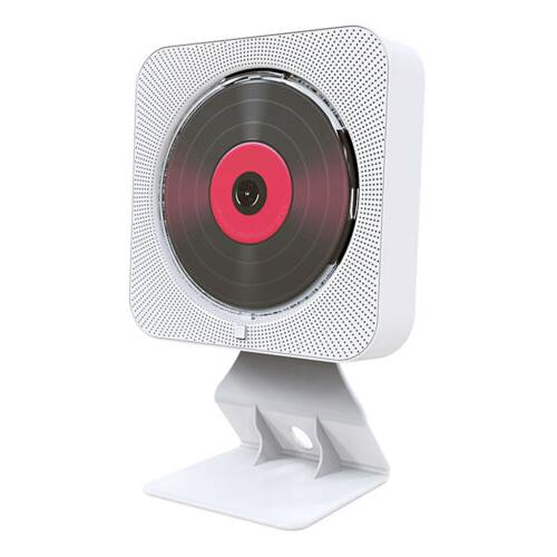 Portable DVD/CD Player 2-in-1 w/Bluetooth Dual Speakers Wall
