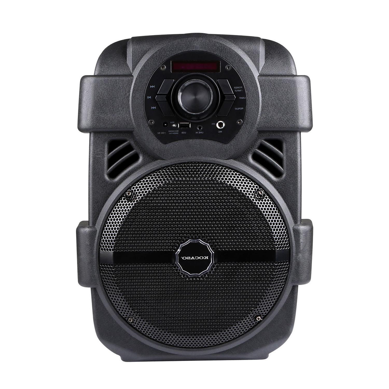 """Portable Karaoke Speaker 8"""" Subwoofer Sound System MIC"""