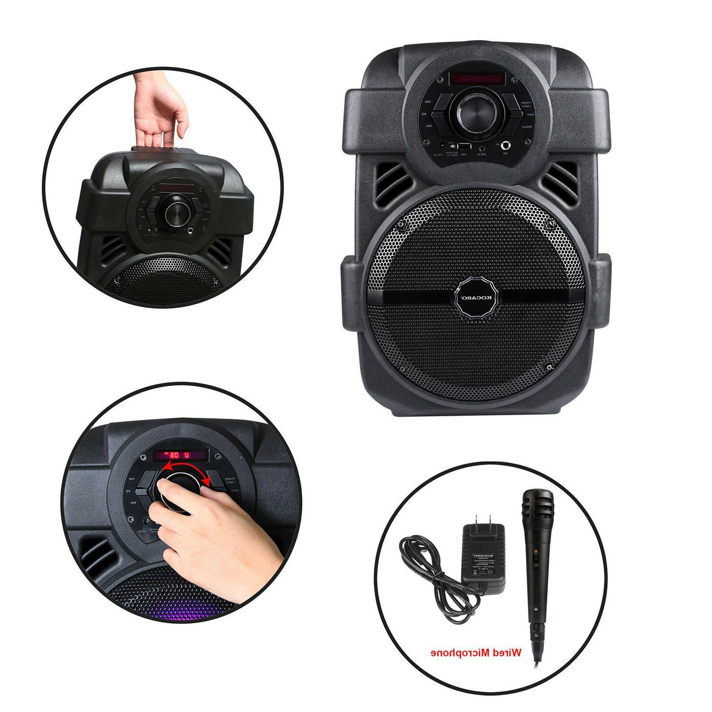 Portable Karaoke Wireless Speaker w/ Sound MIC