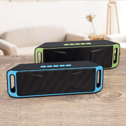 Portable Bluetooth Speaker Rechargeable Card,