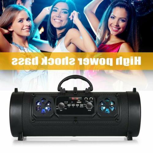 Portable Bluetooth Super Stereo HIFI FM
