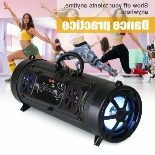 Portable Wireless Super Bass Stereo HIFI FM TF AUX USB