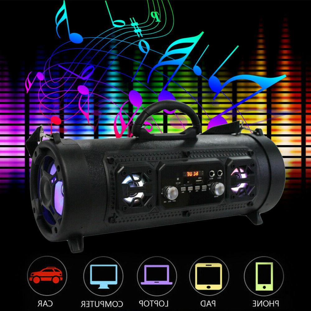 Wireless Portable bluetooth Speaker Stereo Super Bass HIFI A