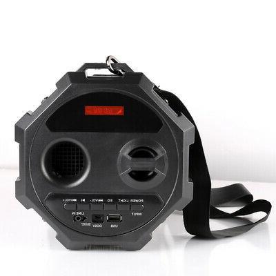 HIFI Portable Bluetooth Speaker Wireless Audio Amplifier USB Radio