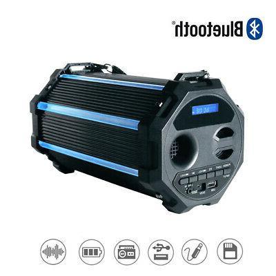 portable wireless bluetooth speaker super bass usb