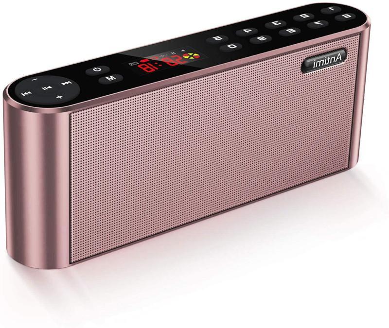 Portable Wireless Bluetooth Speaker Total Harmonic Distortio