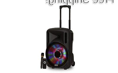 powered speaker cabinet 12 inch prty123