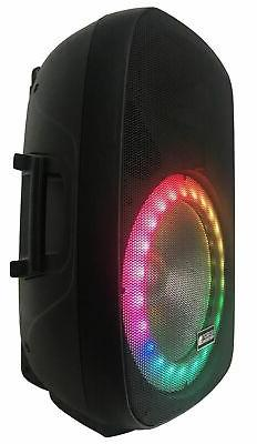 Professional Speaker System Wireless Portable +Accessory