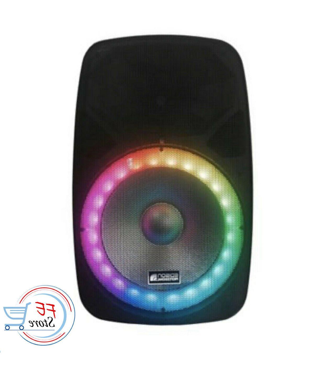 professional 2000 watt pa speaker system bluetooth