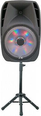 QFX 15 Portable Bluetooth Party Loudspeaker With Wireless Mi