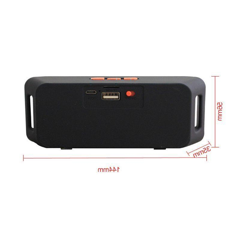 Rechargeable Wireless Speaker Portable USB FM Radio