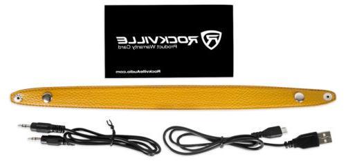 Rockville Portable Slim Bluetooth Speaker w/USB/TF/FM
