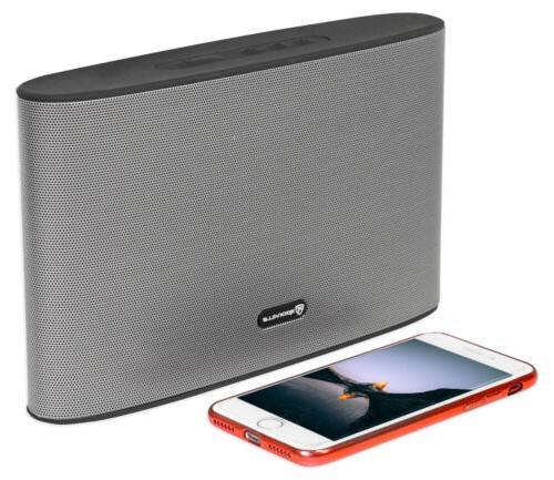 rockwave rechargable portable slim bluetooth speaker w