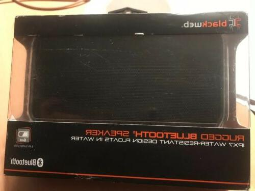 Blackweb Rugged Bluetooth Speaker Ipx7 BWA17AA001 Floats In Water